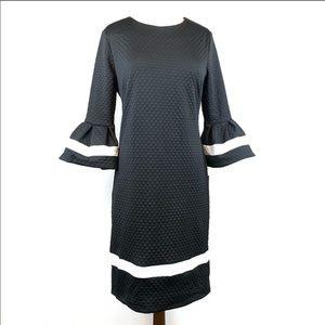 Liz Claiborne 3/4 Bell Sleeve Dress